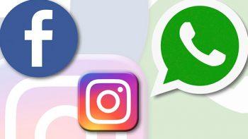 Reportan caída de Facebook, Instagram y WhatsApp