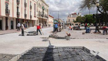 Avanza modernización de Plaza Principal