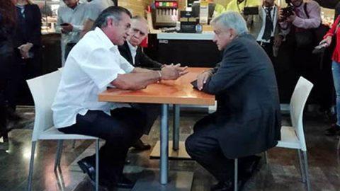 Tienen AMLO reunión 'de banca' con 'El Bronco'