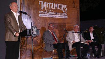 Auspiciado por el Ayuntamiento, cuenta  Octavio Herrera la historia de Matamoros