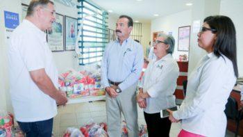 Entrega DIF Reynosa apoyo alimentario