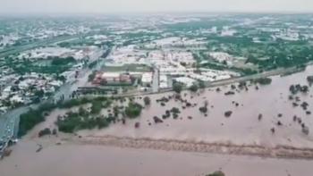 Continúa labor del ejército en zonas afectadas por lluvias en Sinaloa