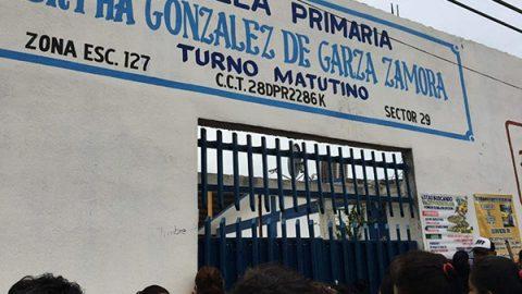 Padre de familia golpea e intenta balear a profesor de primaria en Reynosa