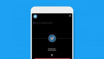 Twitter permite hacer emisiones en directo solo de audio