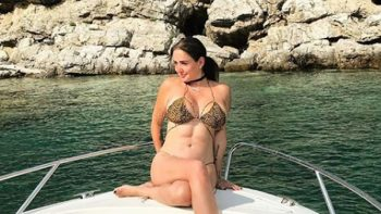 Celia Lora se muestra desnuda en Instagram