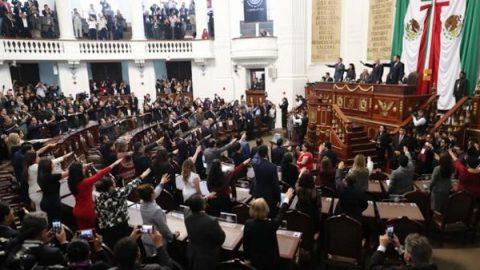 Instalan primer Congreso de la Ciudad de México