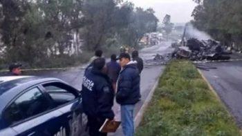 Choque en autopista Lechería-Texcoco deja 2 muertos
