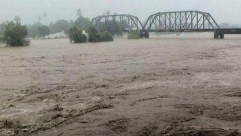 Por inundaciones en Culiacán, suspenden festejos de su fundación