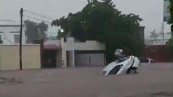 Lluvias en Sinaloa ocasionan inundaciones y accidentes, reportan