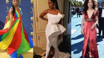Las peor vestidas de los premios Emmy 2018