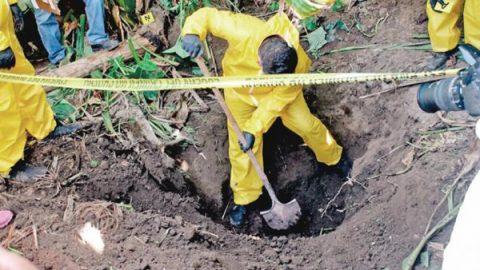 Gobiernos tapan drama de fosas clandestinas