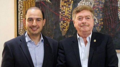 Francisco Vega respalda a Marko Cortés para presidencia del PAN
