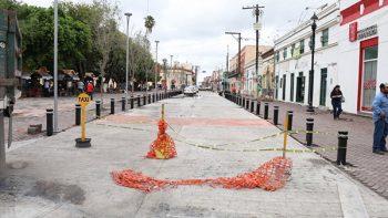 Renivelarán tramo de la González para resolver encharcamientos