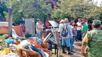 Fuera del Fonden, 15 mil damnificados de 19-S en Morelos