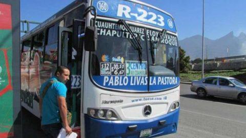 Acuerdan aumento a las tarifas del transporte público