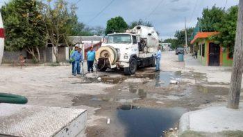 Normaliza COMAPA servicio de drenaje en colonias