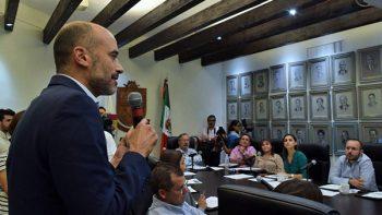 Presente Miguel Treviño gabinete equilibrado
