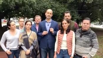 Llama Miguel Treviño a defender el voto en San Pedro