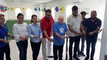 Inauguran área de activación física en el asilo municipal