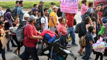 La caravana migrante que polariza al continente