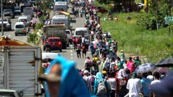 Prevén que el domingo inicie tercera movilización rumbo a EU