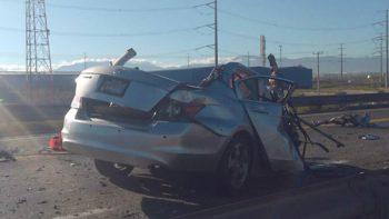 Bebé y papás mueren en accidente carretero en Coahuila