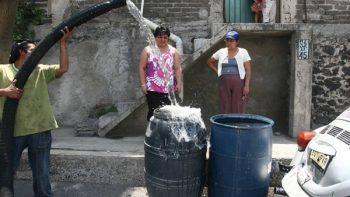 Recorte de agua será sólo de tres días en la CDMX