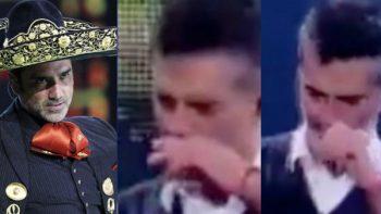 Cuestionan extraño comportamiento de Alejandro Fernández en concierto