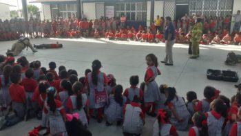 Imparte Protección Civil cursos a población escolar