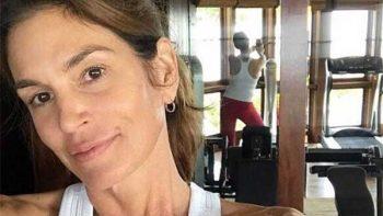 Cindy Crawford comparte foto sin maquillaje
