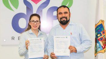 Firman DIF Reynosa y CICADE convenio