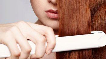 Cuidado con la plancha para cabello