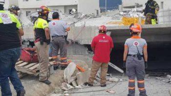 Entregan a Fiscalía información de responsables de edificio colapsado en Monterrey