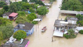 Frente frío 6 deja daños en 52 municipios de Veracruz