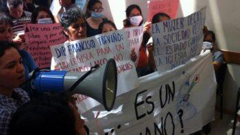 Protesta el FNF en contra del aborto en Monterrey