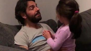 Eugenio Derbez comparte como enseña a cantar a su hija Aitana