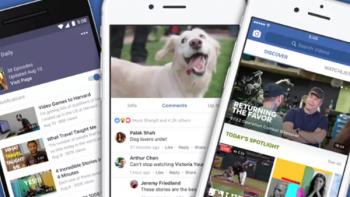 Facebook Watch presenta nuevos formatos de contenido