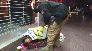 Atiende Protección Civil de Monterrey a 67 personas por frío