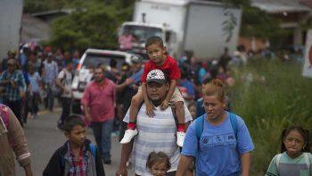 Nace en Juchitán la primera bebé de la Caravana Migrante