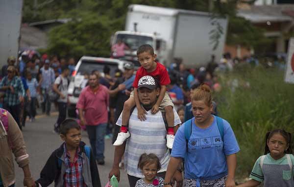 Resultado de imagen para Comisión Nacional de Derechos Humanos de México pide seguridad para caravana