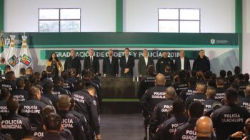 Se gradúa nueva generación de policías de ciudad Guadalupe