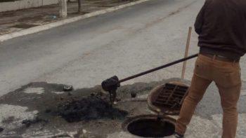 Higiene a drenajes en colonias de Reynosa