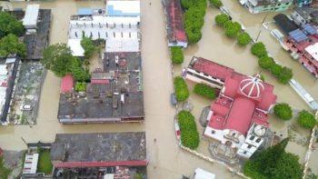 Lluvias provocan inundaciones en zona norte de Veracruz