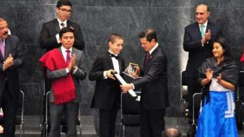 Niño pianista de Torreón gana Premio Nacional de la Juventud