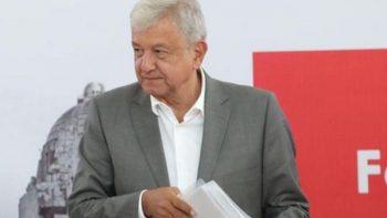 AMLO revisa avances del tren Maya con Gobernadores