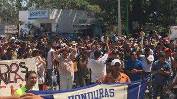 Frontera de Tamaulipas se alista para caravana