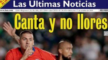 Prensa chilena destaca la victoria de su selección sobre México