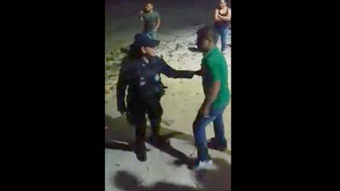 Captan en video riña entre supuestos militares y municipales en BCS