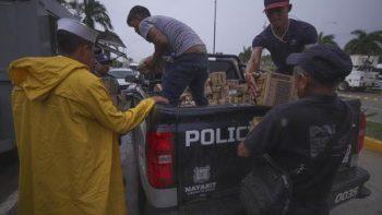 Activan fase de auxilio del Plan Marina en Nayarit y Sinaloa