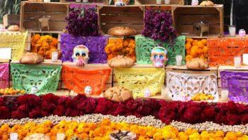 Platillos típicos en las ofrendas de Día de Muertos